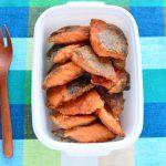 簡単レシピ。冷凍もできる鮭の竜田揚げ風