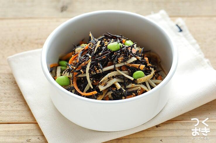 ひじきとごぼうのファイバーサラダの料理写真