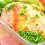 パサパサしない。鶏むね肉のレモンペッパーチーズ焼き