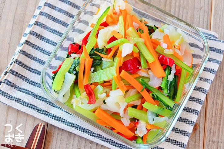 彩り温野菜の料理写真