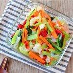 彩り温野菜の常備菜・作り置きレシピ