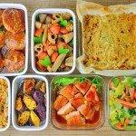 一週間の作り置き・常備菜レポート(2015/11/3)- 今週は90分で7品