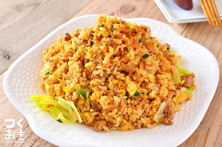 肉味噌レタスチャーハンの料理写真