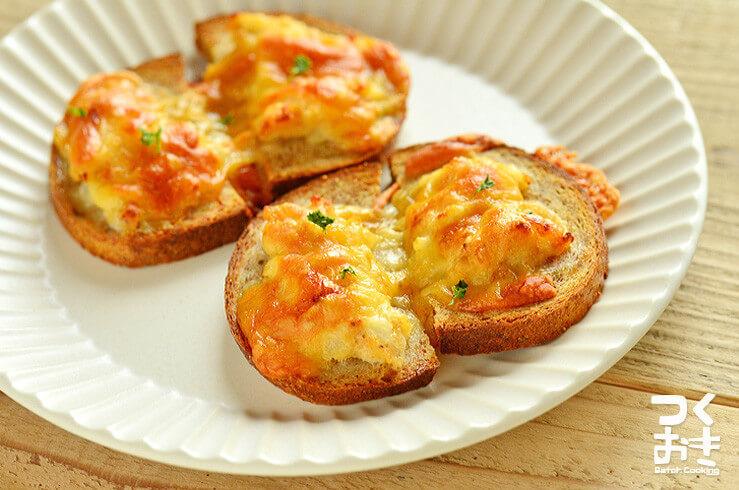 エビとアンチョビのトーストの常備菜・作り置きレシピ