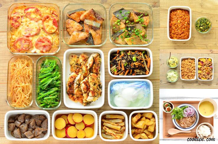週末まとめて作り置き・常備菜(20161002)
