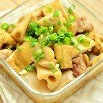レンコンと油揚げの煮物の常備菜・作り置きレシピ