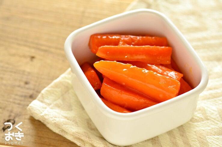 にんじんグラッセの常備菜・作り置きレシピ