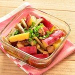さつまいもとごぼうの甘辛煮物の常備菜・作り置きレシピ