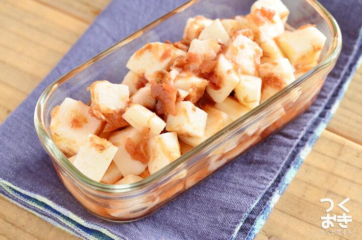 長芋と梅おかかの甘酢和えの常備菜・作り置きレシピ