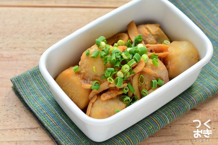 里芋といかくんの煮物の作り置き・常備菜レシピ