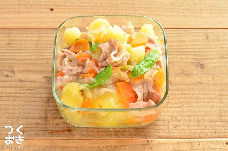 塩肉じゃがの常備菜・作り置きレシピ