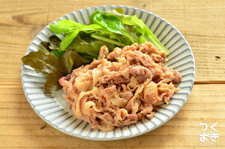 豚肉の和風わさび漬け焼きの常備菜・作り置きレシピ