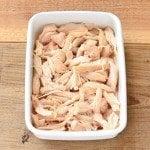 ほぐし蒸し鶏の常備菜・作り置きレシピ