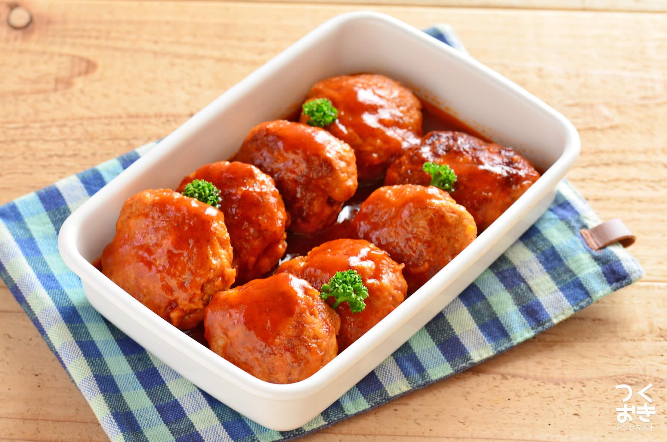 煮込みハンバーグの常備菜・作り置きレシピ