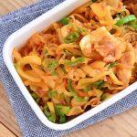 しらたきと豚肉入りのピリ辛野菜炒めのレシピ写真