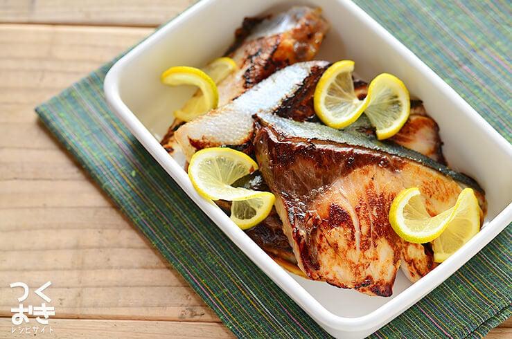 鰤(ブリ)の塩こうじ漬け焼きの料理写真