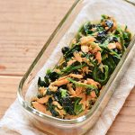 魚介の旨味。ほうれん草とツナのオイスター炒めの常備菜・作り置きレシピ