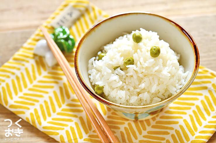 豆ご飯のレシピ