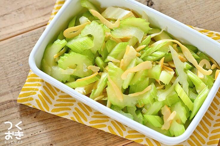セロリといかくんの簡単マリネの常備菜・作り置きレシピ