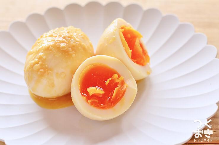 味噌煮卵の常備菜・作り置きレシピ