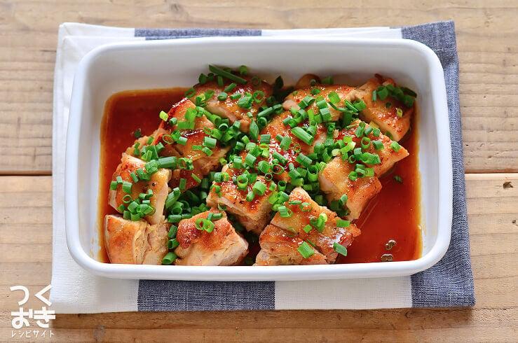 ポン酢照り焼きチキンの常備菜・作り置きレシピ