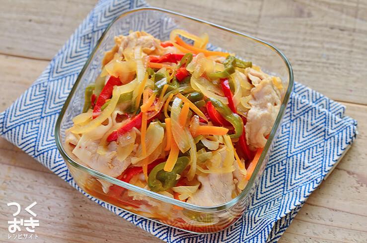豚しゃぶ南蛮の常備菜・作り置きレシピ