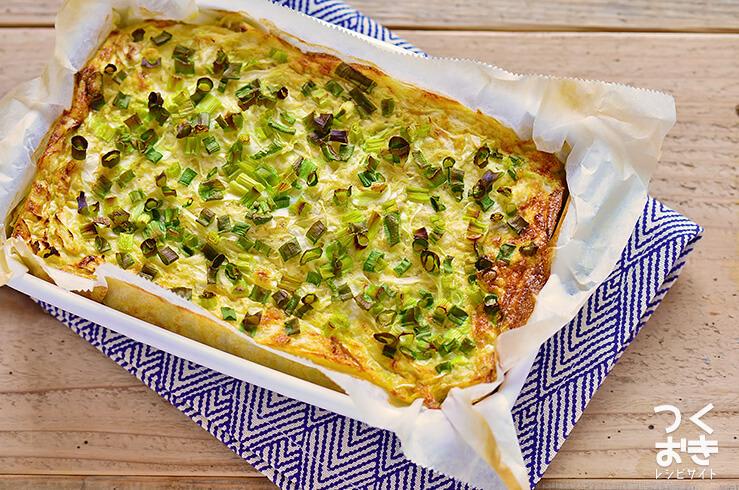 長芋キャベツのオーブン焼きの料理写真