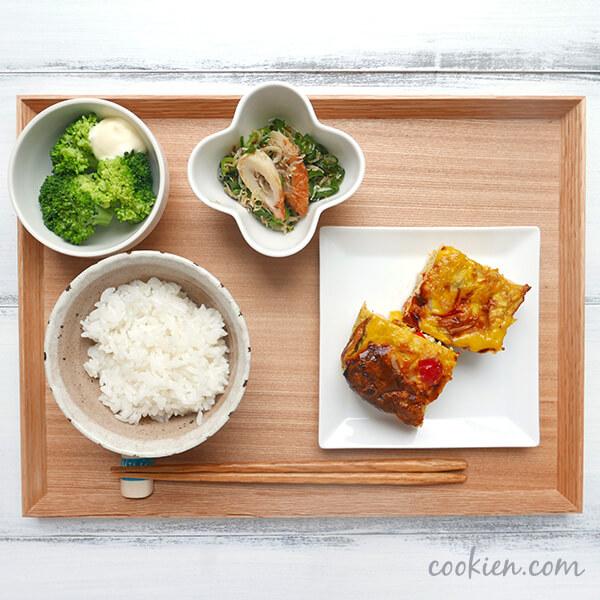 作り置きおかず・常備菜を使った献立(20170713)