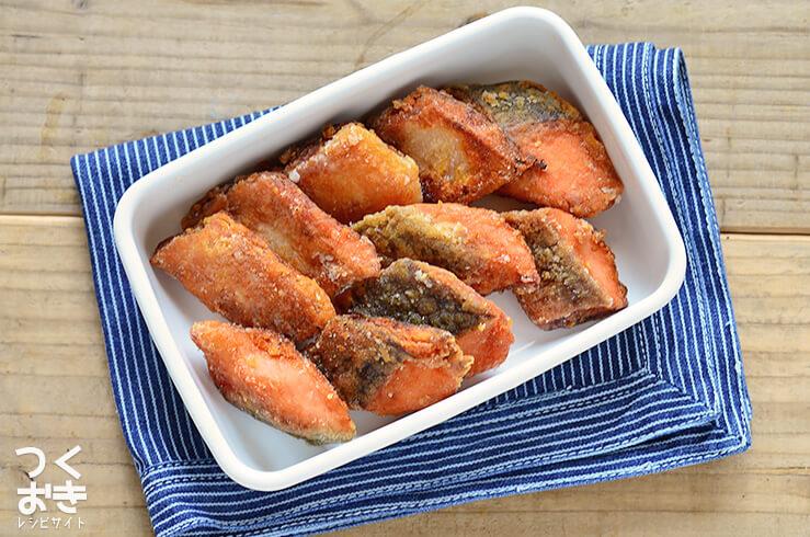 鮭の竜田揚げの料理写真