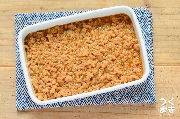 鶏そぼろあんの常備菜・作り置きレシピ