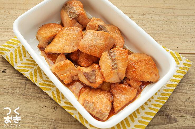 鮭の照り焼きの料理写真