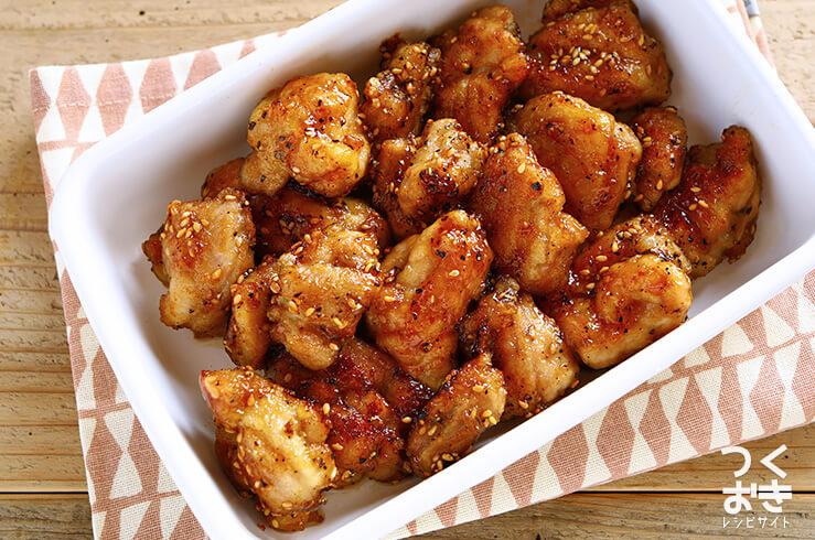 鶏肉の名古屋風から揚げの料理写真