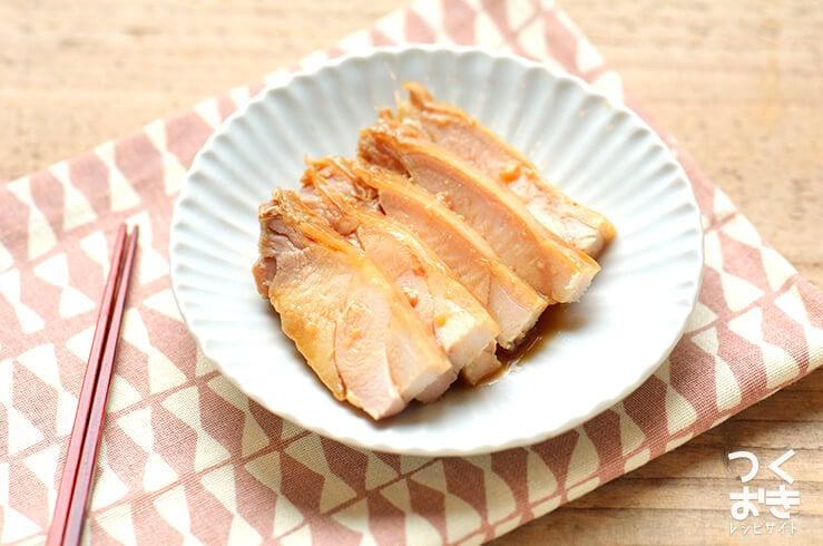 レンジ鶏チャーシューの料理写真