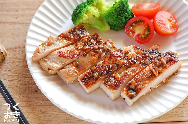 鶏むね肉のしょうが焼きの料理写真