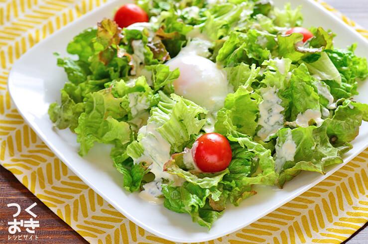 お手軽シーザーサラダの料理写真
