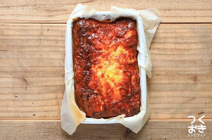 トマトとクリームチーズのオムレツの手順写真その7