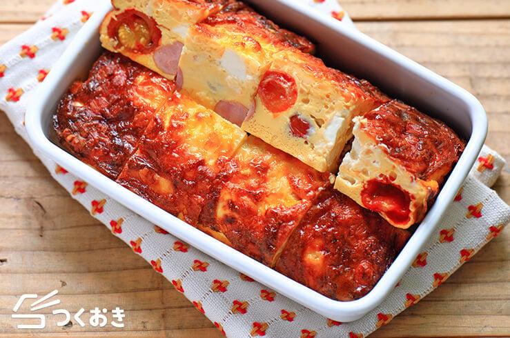 トマトとクリームチーズのオムレツの料理写真