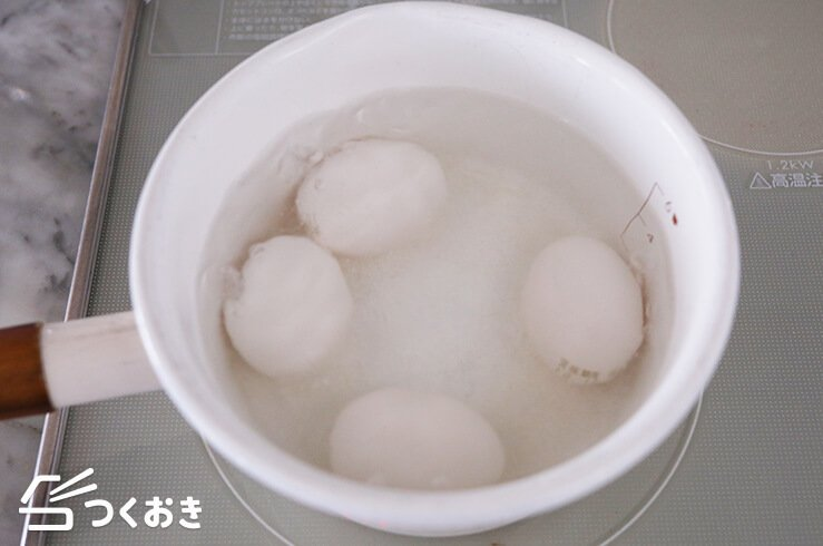 煮卵(味玉)の手順写真その2
