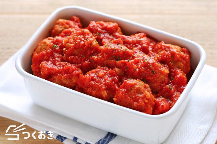 ミートボールのトマト煮の料理写真