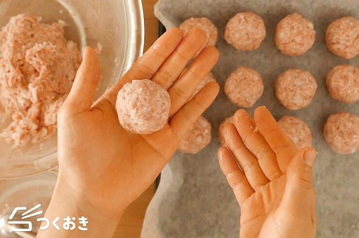 ミートボールのトマト煮の手順写真その3