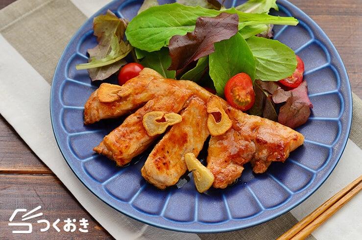 トンテキの料理写真