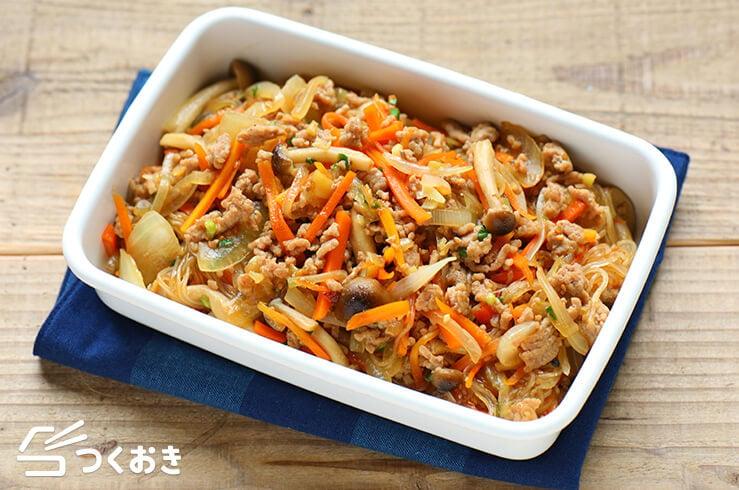 和風チャプチェの料理写真