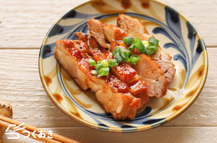 黒酢照り焼きチキンの料理写真