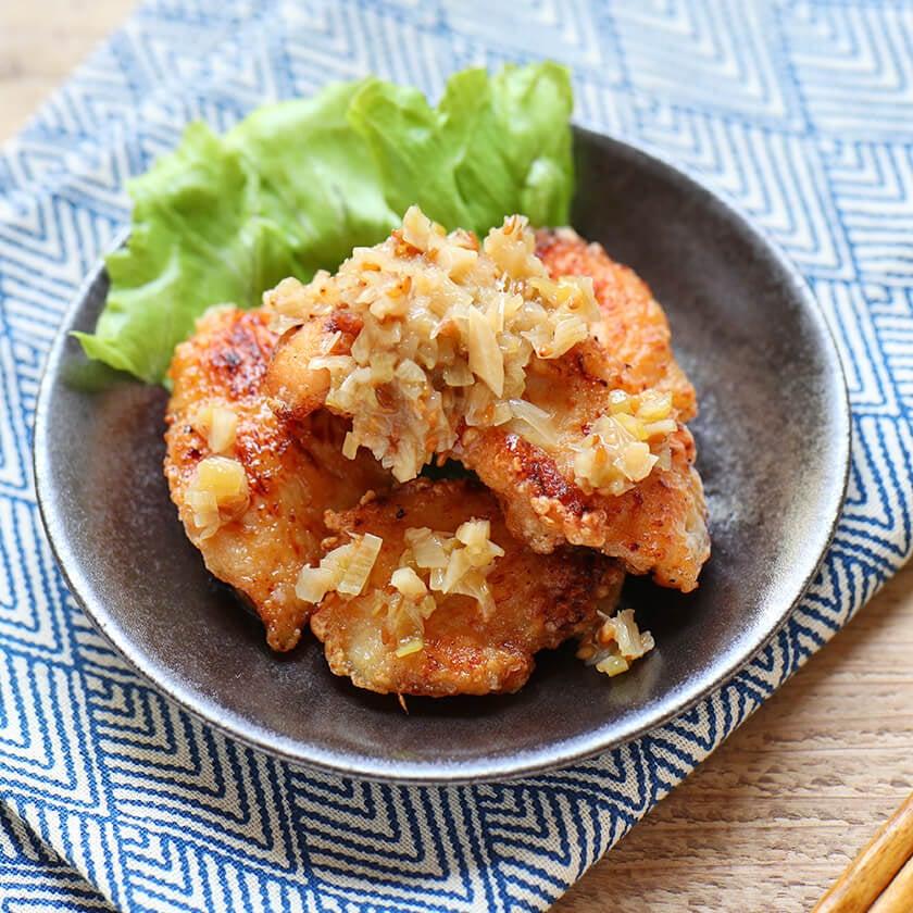 ねぎ塩から揚げの料理写真