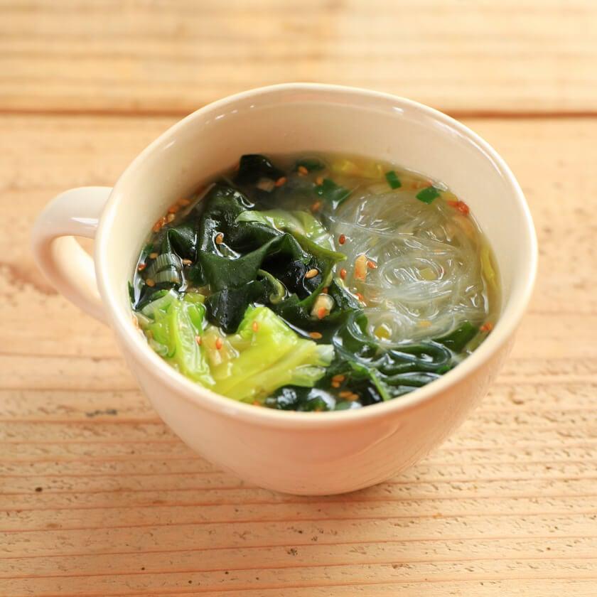 ねぎ塩春雨スープの料理写真