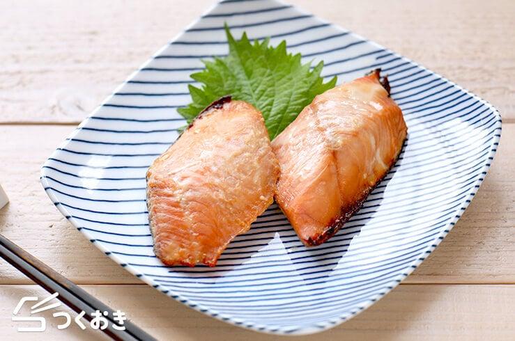 鮭の西京焼きの料理写真