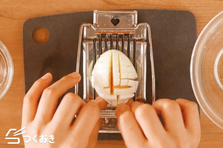 ブロッコリーと卵のオイマヨ和えの手順写真その4