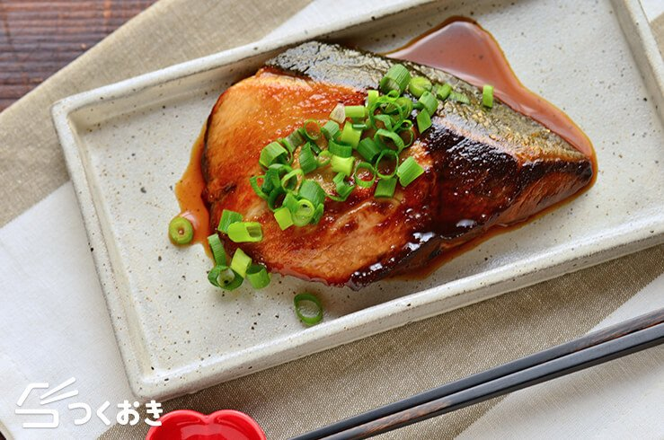 ぶりのポン酢照り焼きの料理写真