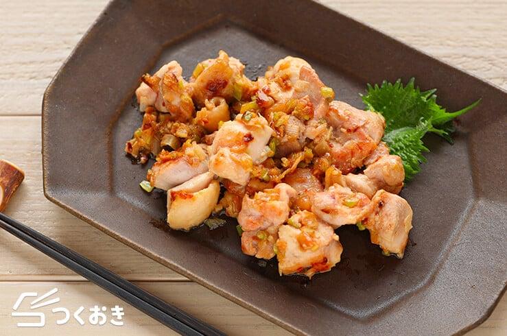 ねぎ塩焼き鳥の料理写真