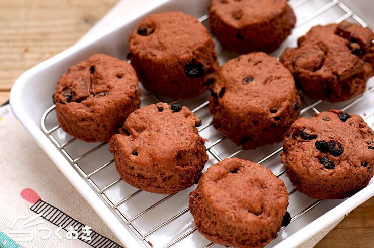 チョコベリースコーンの料理写真